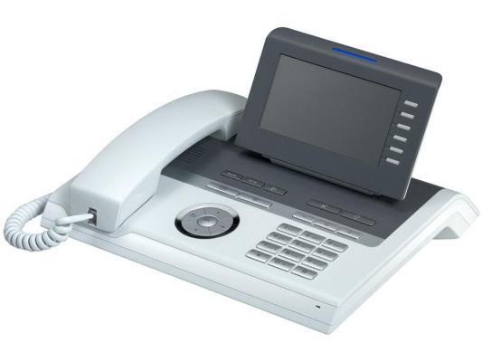 Телефон IP Siemens Unify OpenStage 40 HFA V3 прозрачный лёд L30250-F600-C246 ip телефон siemens openstage 40 ice blue l30250 f600 c108
