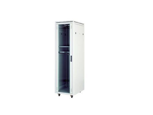 """Шкаф напольный 19"""" 20U Estap Universal Line CKR20U68GF1R1 600x800 серый"""