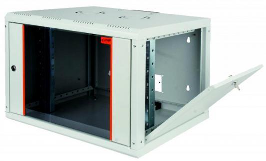 """Шкаф настенный 19"""" 12U Estap PROline PRL12U45GF1 600x450 серый"""