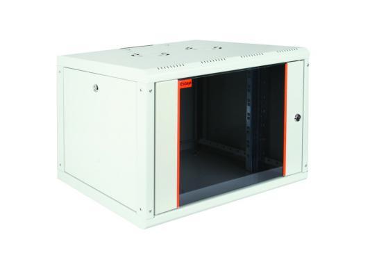 Шкаф настенный 19 9U Estap ProLine PRL9U56GF1 600x560mm серый шкаф настенный 19 16u estap proline prd16u56gf1 600x 160 450 mm дверь стекло с металлической рамой слева и справа серый