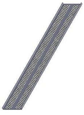 Кабельный желоб вертикальный Estap E44KNL44 42U