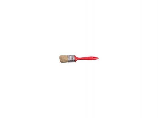 Кисть плоская Stayer UNIVERSAL-EURO натуральная щетина пластмассовая ручка 75мм 0108-75 кисть плоская beorol 70 мм натуральная щетина пластиковая ручка