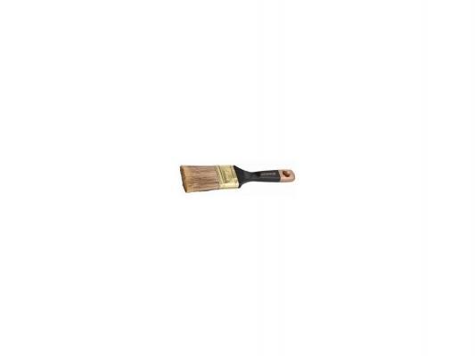 Кисть плоская Stayer AQUA-KANEKARON искусственная щетина деревянная ручка 25мм 0106-025 цена