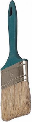 Кисть плоская Зубр УНИВЕРСАЛ-МАСТЕР натуральная щетина пластмассовая ручка 63мм 4-01011-063