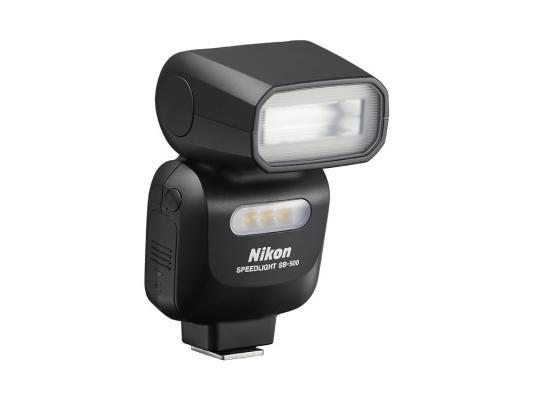 Вспышка Nikon Speedlight SB-500 черный FSA04201 фотовспышка nikon sb 300