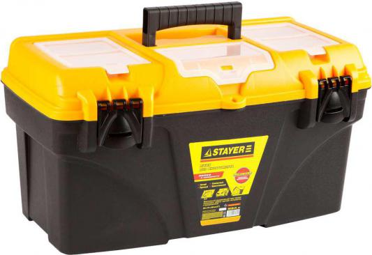 Ящик для инструмента Stayer STANDARD 24 пластмассовый 38105-21_z01/38105-21_z02