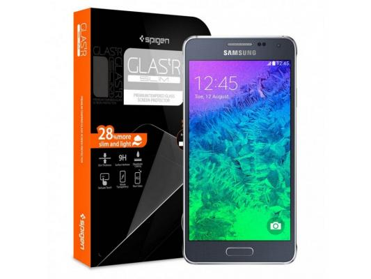 Защитное стекло SGP для Samsung Galaxy Alpha SGP11092 nillkin protective matte plastic back case for samsung galaxy alpha g850f black