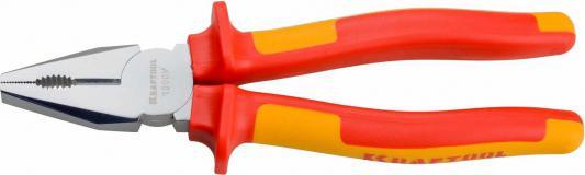 Плоскогубцы Kraftool ELECTRO-KRAFT 160мм 2202-1-16_z01 плоскогубцы kraftool 220мм комбинированные karbmax 22018 1 22