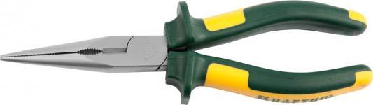 Тонкогубцы Kraftool KRAFT-МАХ 200мм 22011-3-20 клещи переставные kraftool 22011 10 25