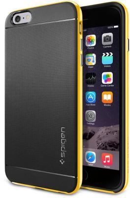Чехол (клип-кейс) SGP Neo Hybrid Case для iPhone 6 Plus желтый