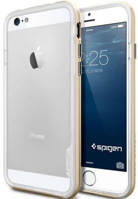 Бампер SGP Neo Hybrid EX Case для iPhone 6S Plus iPhone 6 Plus золотой SGP11061 аксессуар чехол бампер sgp neo hybrid ex slim metal series for iphone 5 satin silver sgp10033