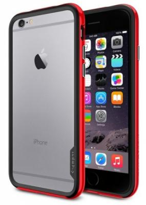 Бампер SGP Neo Hybrid EX Case для iPhone 6 Plus красный SGP11058 чехол boostcase hybrid battery case 2700mah для iphone 6