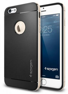 Бампер SGP Neo Hybrid Metal Case для iPhone 6 Plus iPhone 6S Plus золотой SGP11071