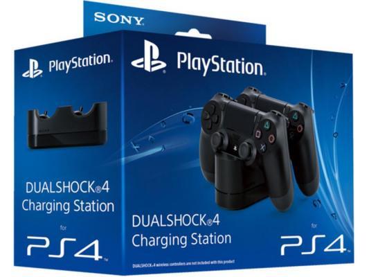 Зарядная станция Sony PlayStation 4 CUH-ZDC1/E для 2 джойстиков Dualshock 4 от 123.ru