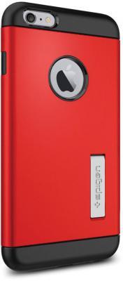 Чехол (клип-кейс) SGP Slim Armor Case для iPhone 6 Plus красный