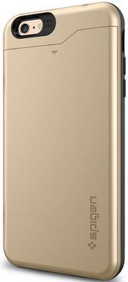 Чехол (клип-кейс) SGP Slim Armor CS Case для iPhone 6 Plus золотой чехол накладка iphone 6 plus lims sgp spigen стиль 7 620026