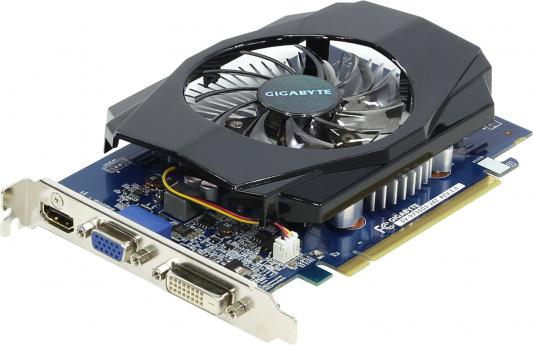 Видеокарта GigaByte GeForce GT 730 GT730 PCI-E 2048Mb 64 Bit OEM (GV-N730D3-2GI ) gigabyte brix gb bki3ha 7100