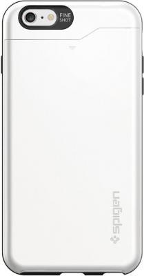Чехол (клип-кейс) SGP Slim Armor CS Case для iPhone 6 Plus белый
