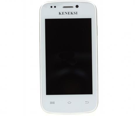 """Смартфон KENEKSI Apollo белый 3.5"""" 2 Гб Wi-Fi GPS"""