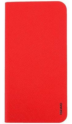 Чехол-книжка Ozaki Ocoat 0.4+Folio для iPhone 6 Plus красный OC581RD