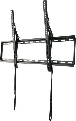 Кронштейн Wize WT65 черный для 42-65 настенный от стены 40мм наклон 14° VESA 800х500 до 45кг
