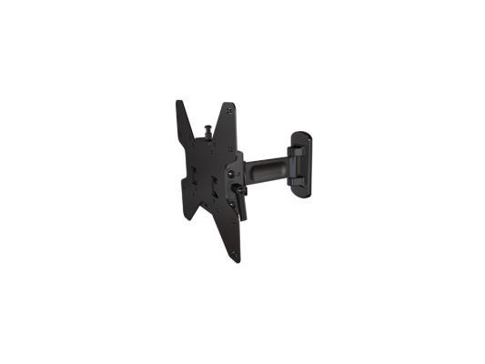Фото - Кронштейн Wize P37 черный для 13-37 настенный от стены 70-200мм наклон +15/-5° поворот +/- 180° VESA 200х200 до 36кг кронштейн настенный mart 306s 10 37 наклон 15° 15° поворот 130 130 до 25 кг черный