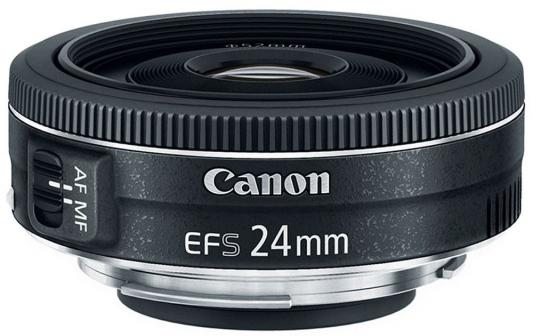 Объектив Canon EF-S 24 F2.8 USM 9522B005 объектив canon ef s is stm 1620c005 18 55мм f 4 5 6 черный