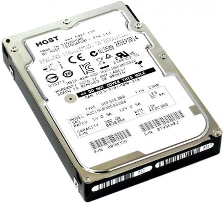 "Жесткий диск 2.5"" 300Gb 15000rpm 128Mb cache Hitachi Ultrastar C15K600 SAS HUC156030CSS204 0B30358"