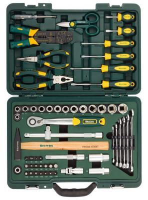 Набор инструментов Kraftool INDUSTRY 59шт 27977-H59 набор инструментов kraftool industry 131шт 27978 h131