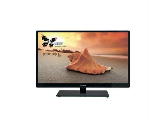 """Телевизор ЖК LED 22"""" Rubin RB-22SE5FT2C 16:9 1920x1080 140000:1 220кд/м2 HDMI USB DVB-T2/DVB-T/DVB-C черный"""