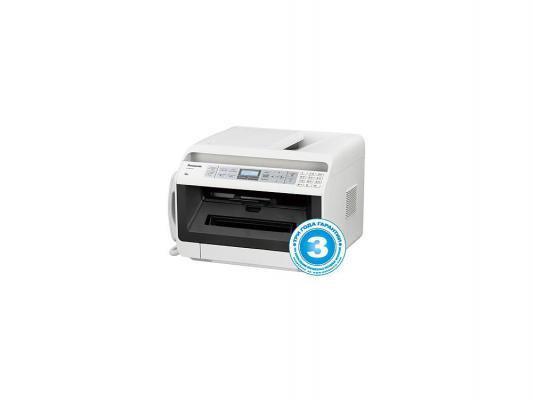 МФУ Panasonic KX-MB2170RUW ч/б A4 26ppm 600x600dpi факс Wi-Fi Ethernet USB белый