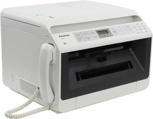 МФУ Panasonic KX-MB2130RUW ч/б A4 26ppm 600x600dpi автоподатчик факс Ethernet USB белый