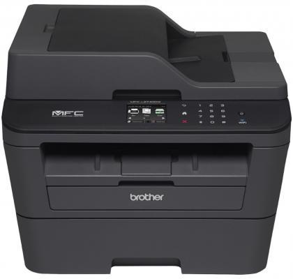 МФУ Brother MFC-L2740DWR ч/б A4 30ppm 2400x600dpi дуплекс Wi-Fi USB MFCL2740DWR1 принтер для большого количества печати