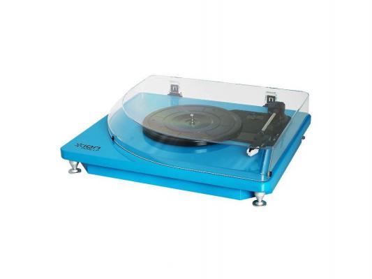 Виниловый проигрыватель ION Pure LP синий