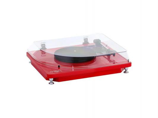 Виниловый проигрыватель ION Pure LP красный