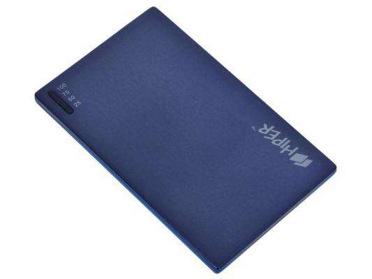 Портативное зарядное устройство HIPER Power Bank SLIM2000 2000мАч синий