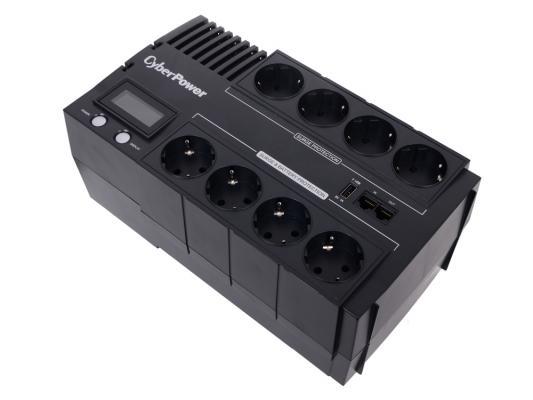 ИБП CyberPower 1000VA/600W BR1000ELCD-RU черный