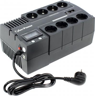 ИБП CyberPower BR1200ELCD 1200VA Черный ибп cyberpower 650va 360w ut650ei черный