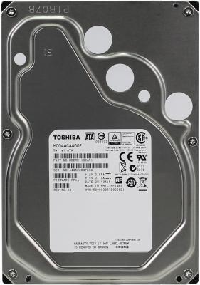 Жесткий диск 3.5 4 Tb 7200rpm 128Mb cache Toshiba SATAIII MC04ACA400E жесткий диск 3 5 4 tb 7200rpm 128mb cache toshiba sataiii hdwe140ezsta