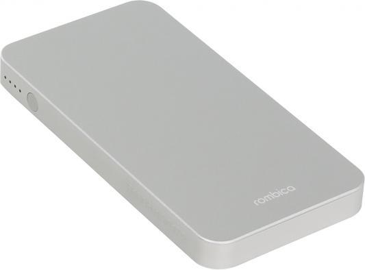 Портативное зарядное устройство Rombica NEO MA50 5000мАч серый
