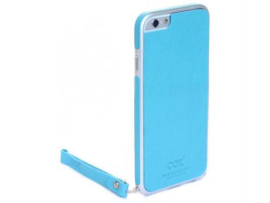 Накладка Cozistyle Leather Skin Bumper для iPhone 6 Plus синий CPH6+B002