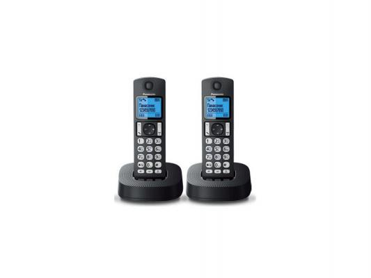 Фото Радиотелефон DECT Panasonic KX-TGC322RU1 черный радиотелефон dect panasonic kx tge110rub черный