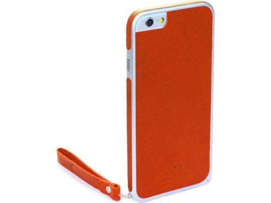 Накладка Cozistyle Leather Skin Bumper для iPhone 6 оранжевый CPH6B001