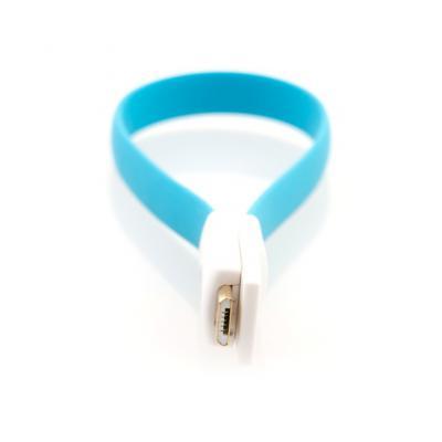 Кабель USB-microUSB 0.2м Gmini mCable MUS200F-M плоский синий