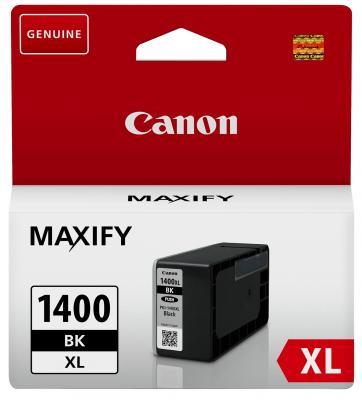 Картридж Canon PGI-1400XL BK для MAXIFY МВ2040 МВ2340 черный 1200стр картридж canon pgi 1400xl bk 9185b001