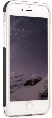 Бампер Cozistyle Leather Skin Bumper для iPhone 6 Plus чёрный CPH6+B010