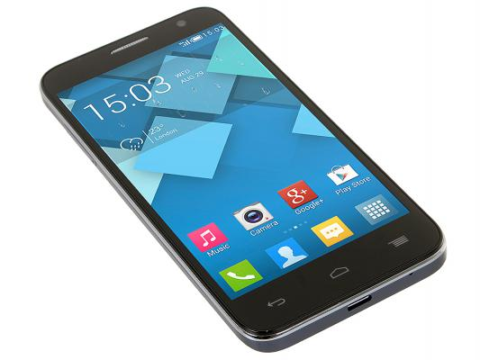 "Смартфон Alcatel OneTouch 6014X IDOL 2 MINI L Slate серый 4.5"" 4 Гб Wi-Fi GPS 3G"