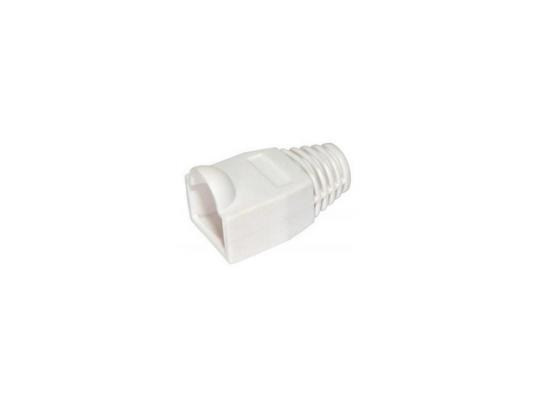 Колпачок пластиковый для вилки RJ-45 VCOM VNA2204-W белый 100шт
