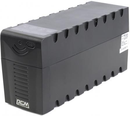 ИБП Powercom RPT-600AP Raptor 600VA/360W AVR USB 3 IEC powercom rpt 600a raptor 3 iec