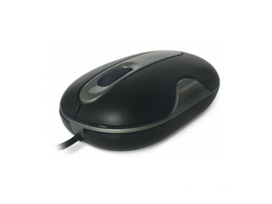 Мышь проводная CBR CM-200 серебристый USB